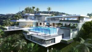modern massive estate